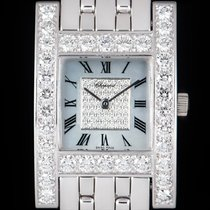 Chopard White gold Quartz Mother of pearl Roman numerals 24mm pre-owned Your Hour