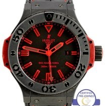 Hublot Big Bang King 48mm Black Ceramic Red Automatic 322.CI.1...