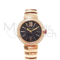 Bulgari Lucea Oro rosa 33mm Nero