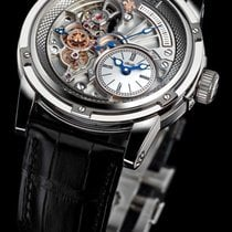 Louis Moinet 43.5mm new Tempograph Silver