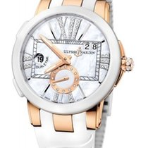 Ulysse Nardin Ceramic Automatic pre-owned Executive Dual Time Lady