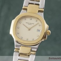 Patek Philippe 4700/51 Gold/Steel 1995 Nautilus 27.5mm pre-owned