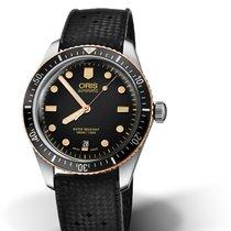 Oris 01 733 7707 4354-07 4 20 18 Steel Divers Sixty Five 40mm new