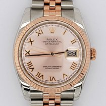 Rolex Datejust Gold/Steel 36mm Black United States of America, New York, New York