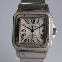 Cartier Santos Galbée Stahl 29mm Silber Römisch Deutschland, Nürnberg