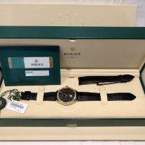 Rolex Cellini Time Roségold Schwarz