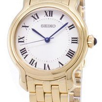 Seiko new Quartz Screw-Down Crown 29mm Gold/Steel Mineral Glass