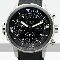 IWC Aquatimer Chronograph Otel 44mm Negru