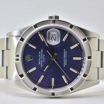 Rolex Oyster Perpetual Date Stahl 34mm Blau Keine Ziffern Deutschland, Iffezheim