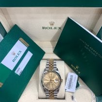 Rolex Datejust Gold/Steel 36mm Champagne United States of America, New York, New York