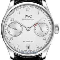 IWC Portuguese Automatic Steel 42.3mm Silver
