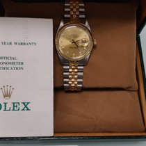 Rolex Datejust 16013 Foarte bună Aur/Otel 36mm Atomat