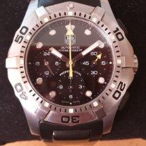 TAG Heuer Aquagraph Steel 43mm Black No numerals