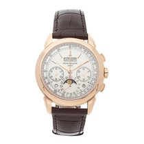 Patek Philippe Perpetual Calendar Chronograph 5270R-001 Very good Rose gold 41mm Manual winding