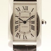 Cartier Tank Américaine tweedehands Witgoud