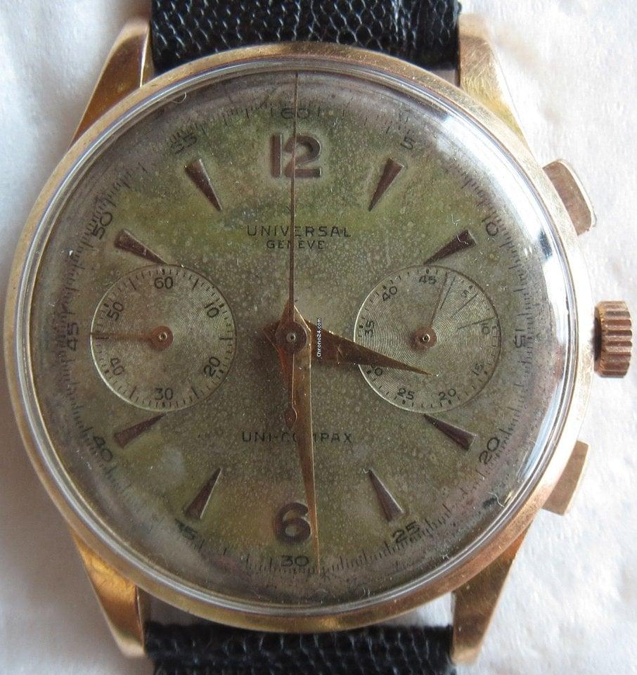 b401cabe6b5 Comprar relógios Universal Genève Ouro vermelho