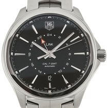 TAG Heuer Link 42 Automatic GMT Steel Calibre 7