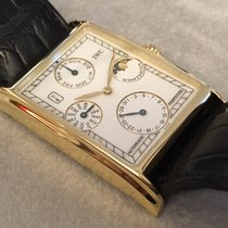 IWC Novecento Yellow gold 27mm White No numerals