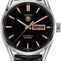 TAG Heuer Carrera Calibre 5 new Automatic Watch with original box and original papers WAR201C.FC6266