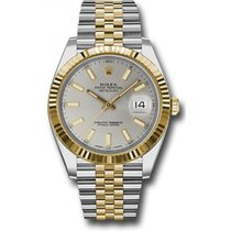 Rolex Datejust 41mm Stainless Steel and Yellow Gold 126333...