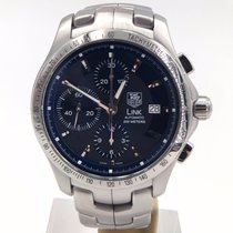 TAG Heuer Link Chronograph Blue Dial Calibre 16 Automatic Ref:...