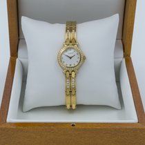 Pequignet Moorea Yellow gold White No numerals