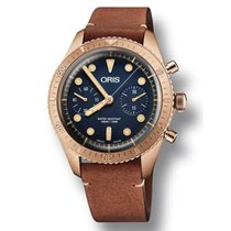 Oris Carl Brashear new 2018 Automatic Chronograph Watch with original box and original papers 01 771 7744 3185 LS