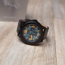 Blancier Stahl 45mm Quarz Military watch neu