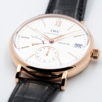 IWC Portofino Hand-Wound Red gold 45mm Silver Roman numerals United States of America, Texas, Houston