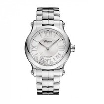 Chopard Happy Sport Steel 36mm Silver Roman numerals United States of America, Iowa