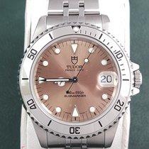 Tudor Submariner medium size Salmon dial Date Oyster Prince