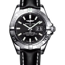 Breitling Galactic 41 Steel 41mm Black No numerals United States of America, New York, New York