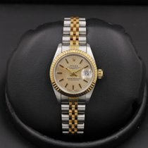 Rolex Datejust 69173 Stainless Steel / Yellow Gold