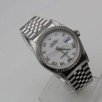 Rolex Datejust 16234 White Roman Dial