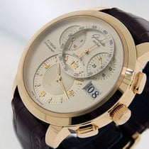 Glashütte Original PanoMaticChrono XL Rose gold 42mm Silver Arabic numerals United States of America, California, Los Angeles