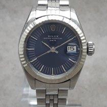 Rolex Oyster Perpetual Lady Date Gold/Stahl 26mm Blau Deutschland, Essen Kettwig