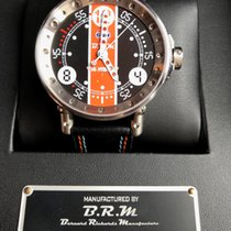 B.R.M Steel 44mm Automatic V6-44-HB-GULF LIMITED EDITION new