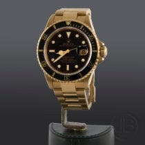 Rolex Submariner Date nuevo 1991 Automático Reloj con estuche y documentos originales 16618