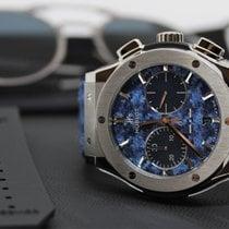 Hublot Classic Fusion Chronograph Titan 45mm Blau