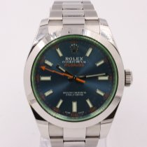 Rolex Milgauss Steel 40mm Black No numerals United Kingdom, Middlesbrough