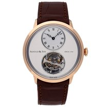 Arnold & Son UTTE Rose gold 42mm Silver Roman numerals United States of America, Pennsylvania, Bala Cynwyd