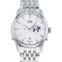 Oris Artelier Worldtimer Steel 42mm Silver United States of America, Georgia, Atlanta