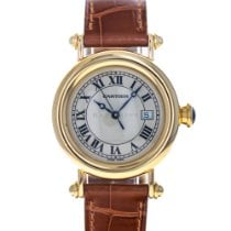 Cartier Diabolo Yellow gold 32mm White Roman numerals United States of America, Maryland, Baltimore, MD