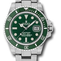 Rolex Submariner Date Steel 40mm Green No numerals United States of America, New York, New York
