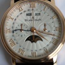 Blancpain Villeret Complete Calendar Rose gold 40mm Silver