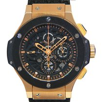 Hublot Big Bang Aero Bang pre-owned 44mm Chronograph Rubber