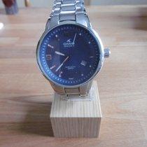 Casio Oceanus Steel 39mm Blue Arabic numerals