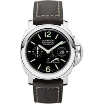 Panerai Luminor Power Reserve Steel 44mm Black Arabic numerals United States of America, Iowa, Des Moines