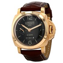 Panerai Luminor 1950 8 Days GMT Rose gold 44mm Grey United States of America, Florida, Miami