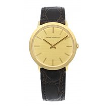 Girard Perregaux Or jaune Remontage manuel Champagne Sans chiffres 32mm occasion
